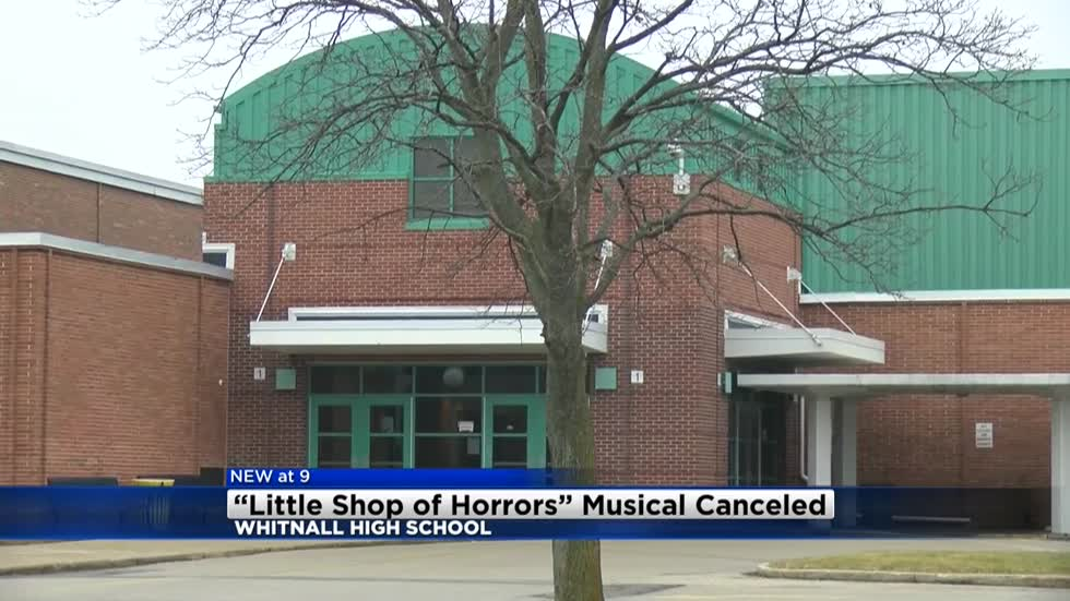 Whitnall High School cancels performances after drama students violate student code of conduct