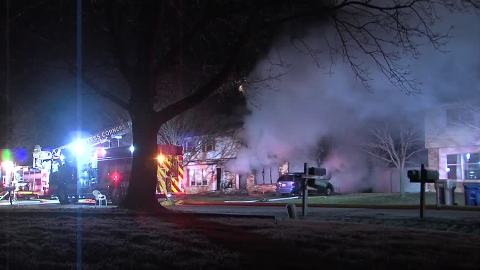 One taken to hospital in Muskego duplex fire