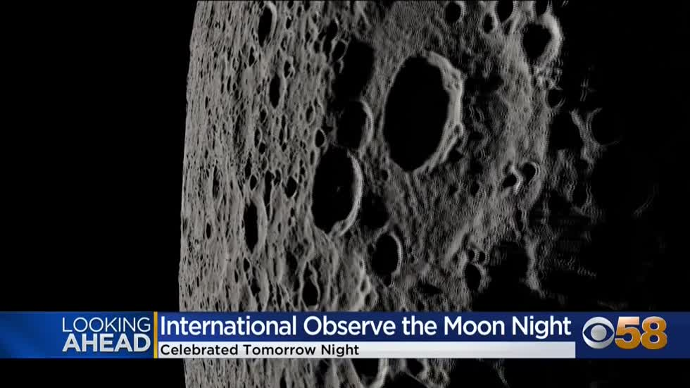International Observe the Moon Night being held Sept. 26