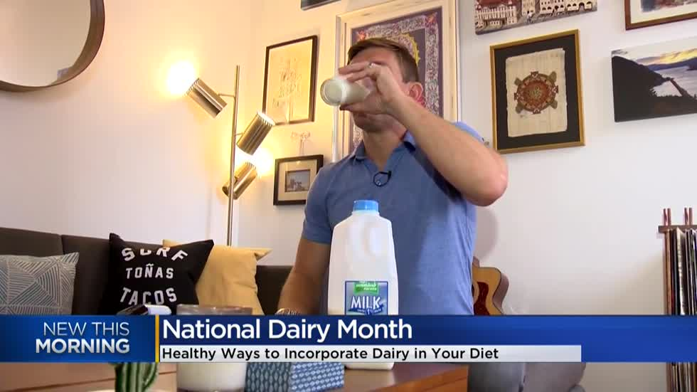 National Dairy Month: Dietitian discusses how to incorporate dairy into diet