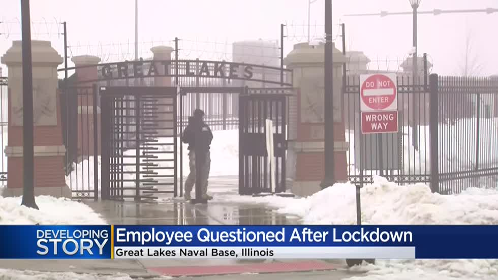 UPDATE: Employee makes unauthorized entry into Naval Station Great Lakes prompting lockdown