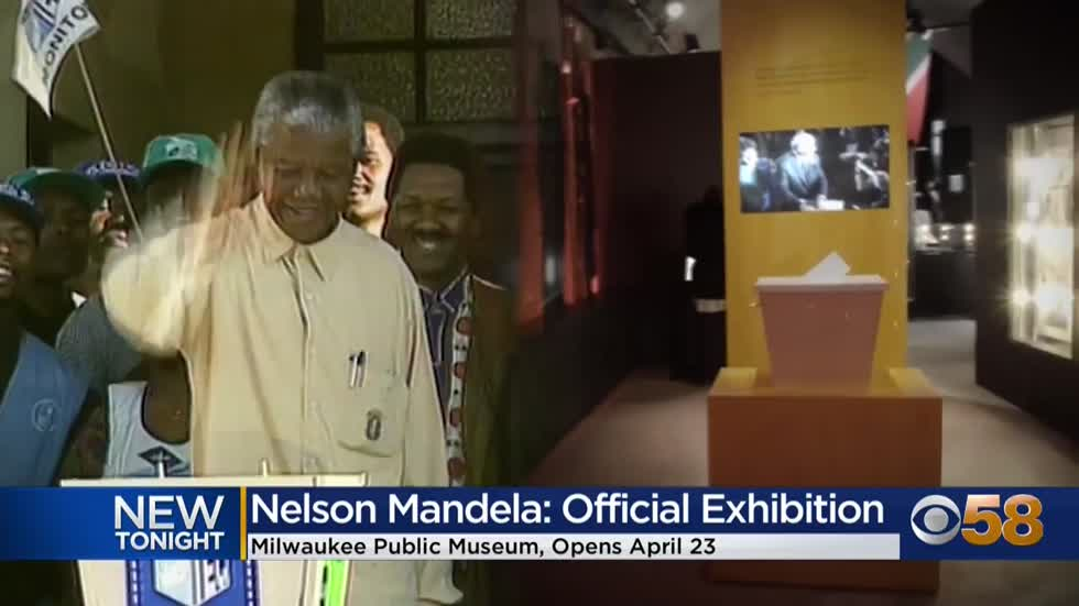Nelson Mandela exhibition coming to the Milwaukee Public Museum...