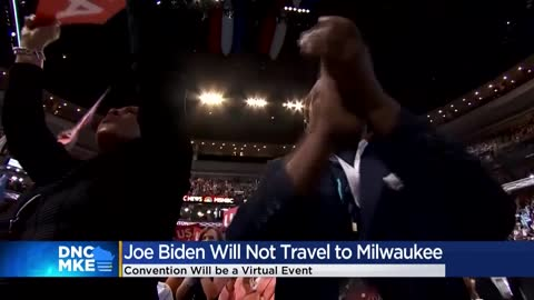 Biden no longer coming to Milwaukee to accept Democratic presidential...