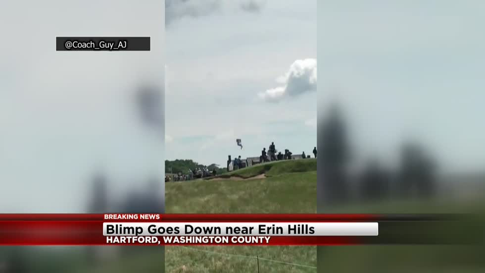 USGA issues statement after blimp crash near Erin Hills