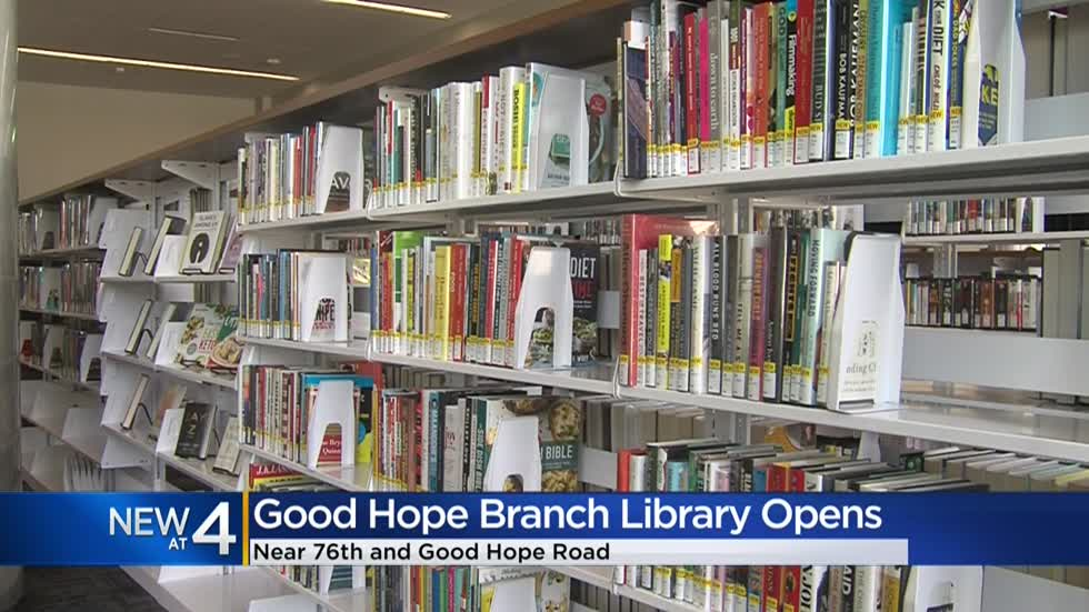 New Milwaukee Public Library opens near 76th and Good Hope Road