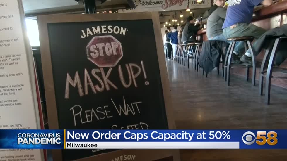 'It's hard to run a business at 50%': Milwaukee bar owners...