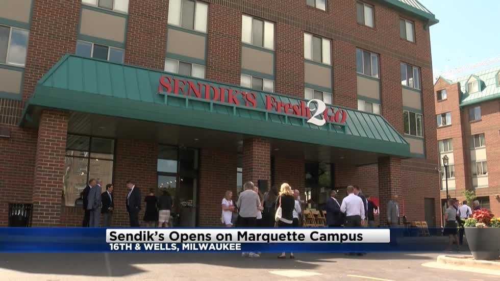 Sendik's Fresh2GO opens on Marquette's campus