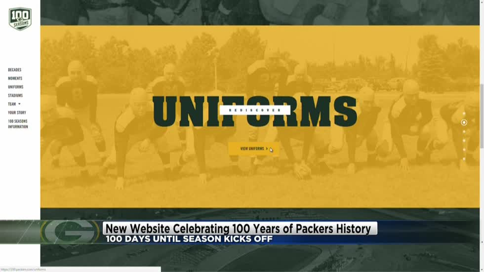 100 days until Packers 100th season begins