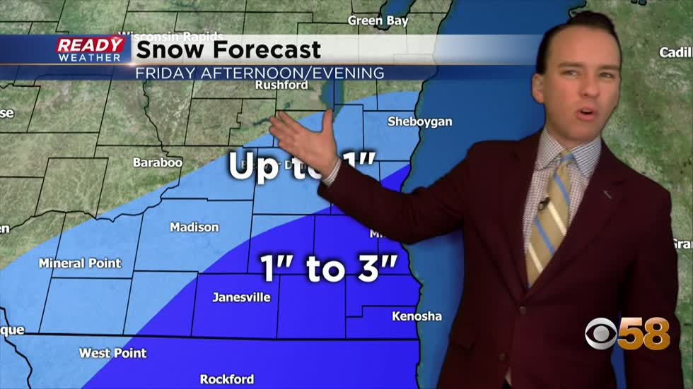 Another round of snow likely to kick off 2021