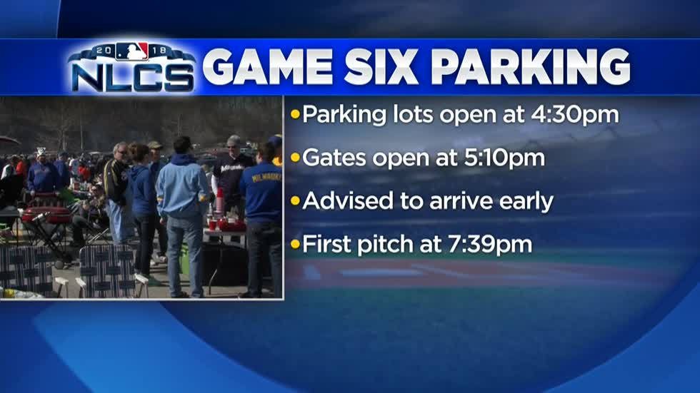 Miller Park NLCS Game 6 details announced