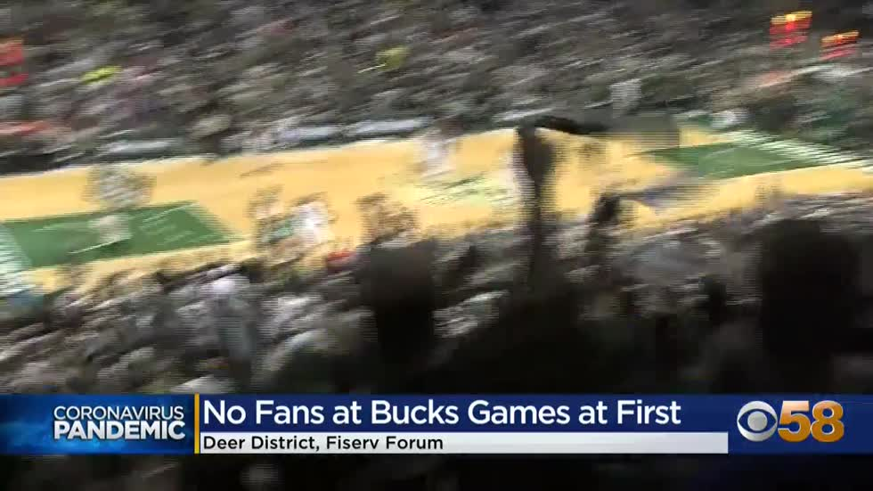 Bucks games for 2020-21 season at Fiserv Forum will be without...