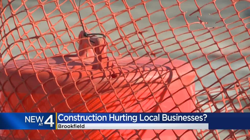 Local businesses concerned as construction begins on North Ave. in Brookfield
