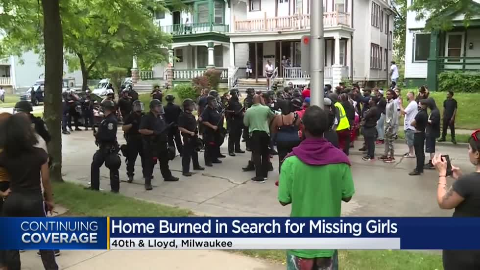 Milwaukee police: No evidence shows missing teens were inside home near 40th and Lloyd set ablaze