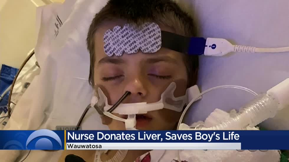 Froedtert Hospital nurse donates liver to save 8-year-old boy