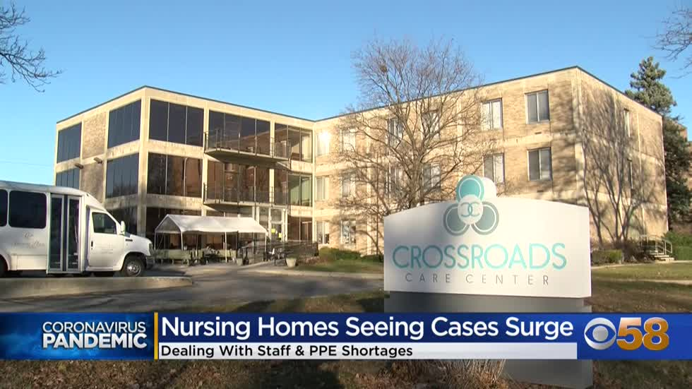 Nursing homes in the Midwest have seen a 400% spike in COVID-19...