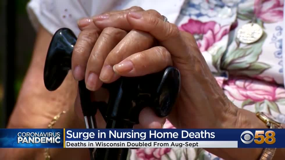 COVID-19 deaths doubled at Wisconsin nursing homes from Aug.-Sept.,...