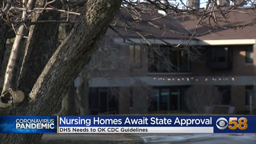 Nursing homes await OK from state to implement CDC guidelines...