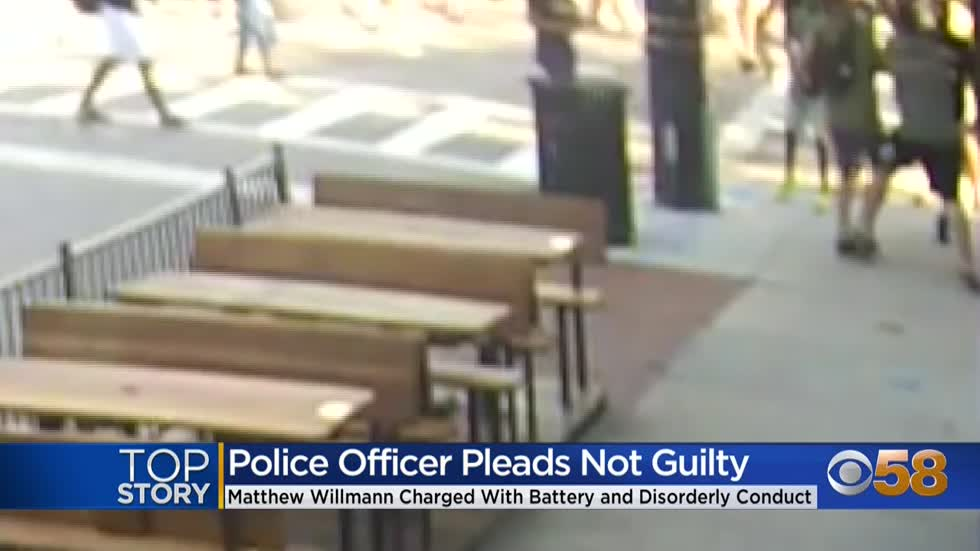 Signature bond set for Milwaukee officer charged with battery,...