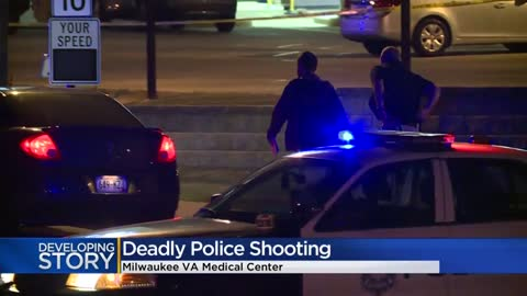 Man dies in officer-involved shooting at Milwaukee VA Medical...