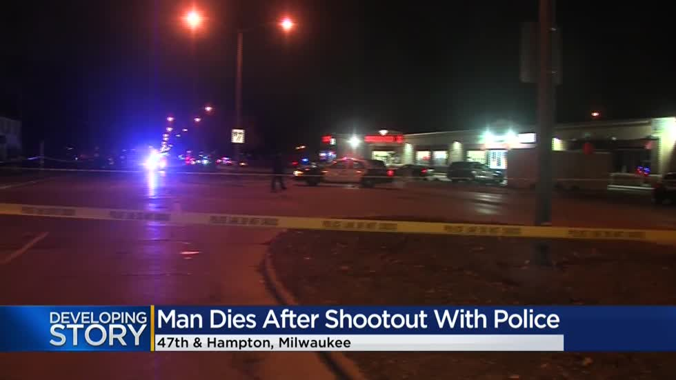 'Scary how it happened:' Shootout with Milwaukee police officers leaves suspect dead