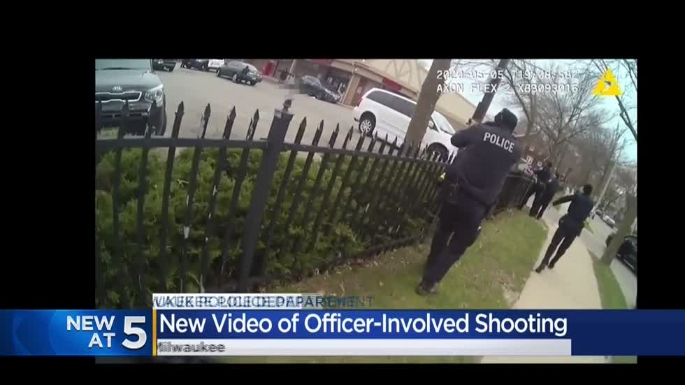 Body cam footage shows police shoot man accused of killing Walgreens pharmacy tech