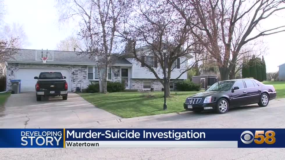 Officials: 52-year-old and 16-year-old dead in apparent murder-suicide in Watertown