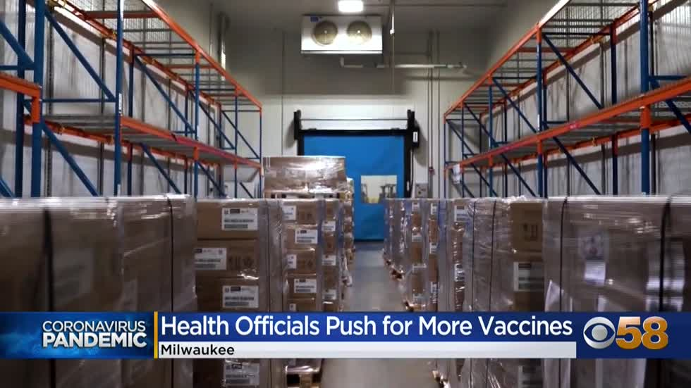 Wisconsin will receive less Pfizer vaccine doses than expected, federal officials indicate