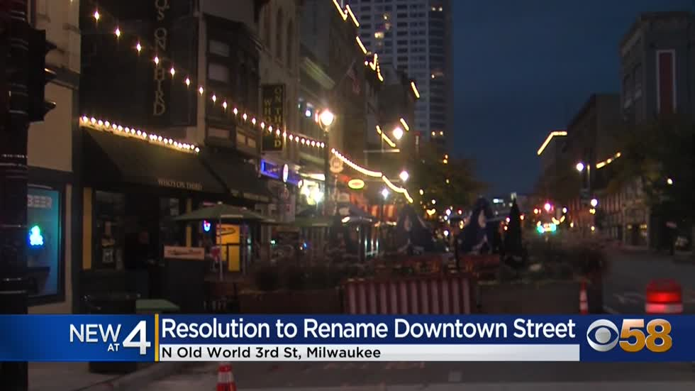 Resolution to rename Old World Third Street to MLK Drive passes...