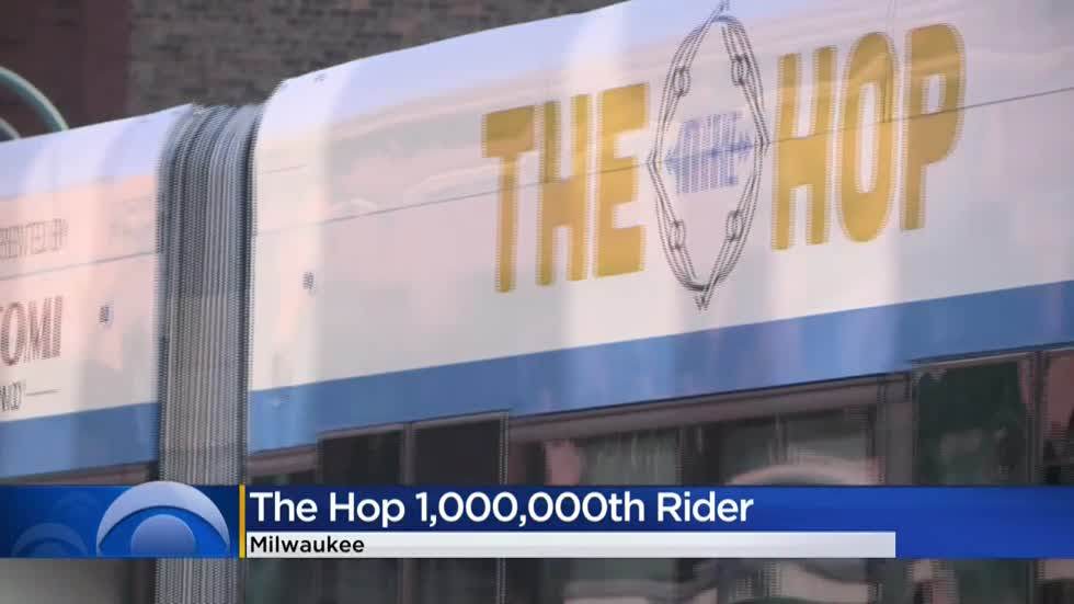 Milwaukee's streetcar, The Hop, celebrates one million riders