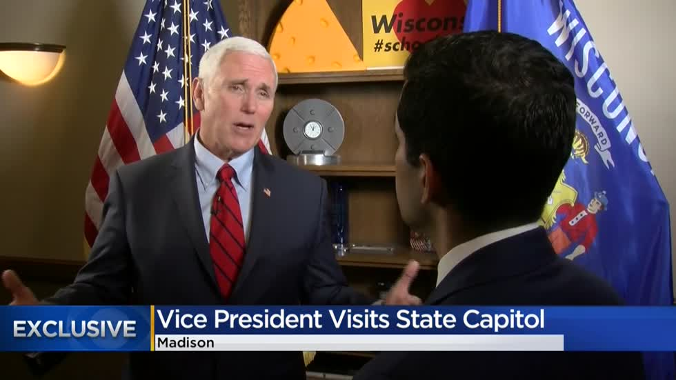 CBS 58 Exclusive: One-on-one with VP Mike Pence