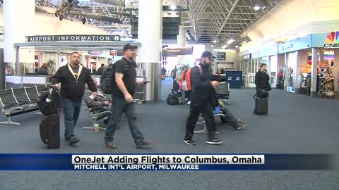 OneJet adding flights to Columbus, Omaha from Mitchell International Airport