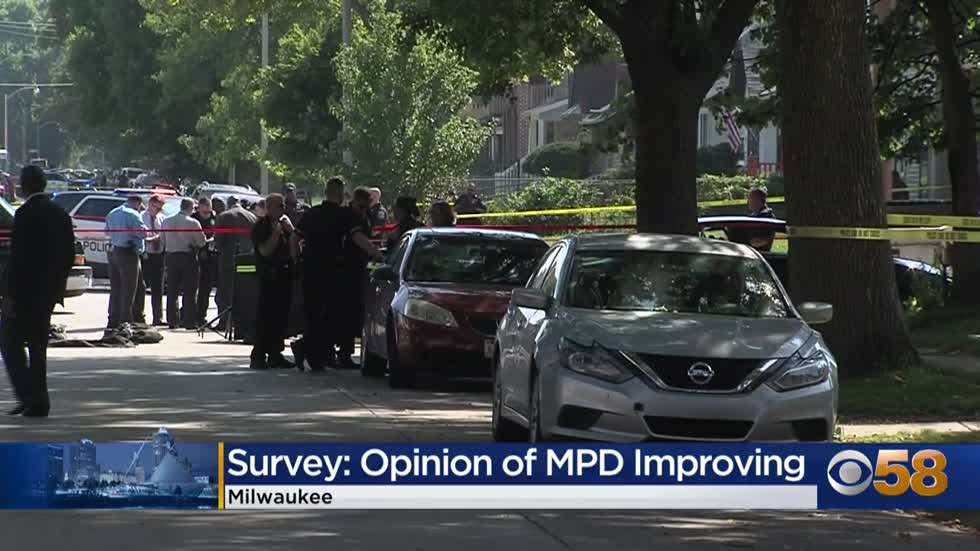 Public opinion of Milwaukee Police Department is improving, survey...