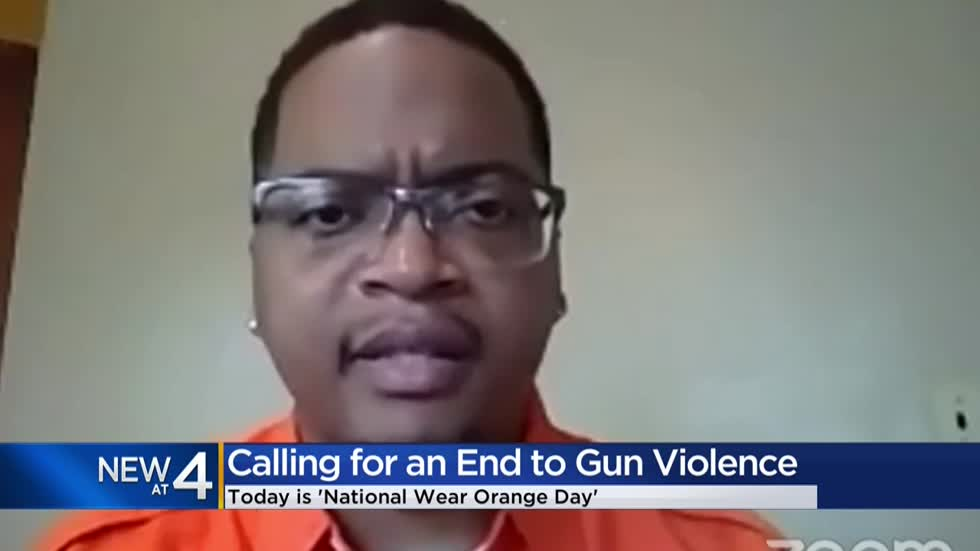 Leaders call for end to gun violence on National Wear Orange Day