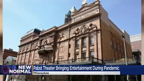 The Pabst Theater finds new ways to entertain the crowd during the pandemic