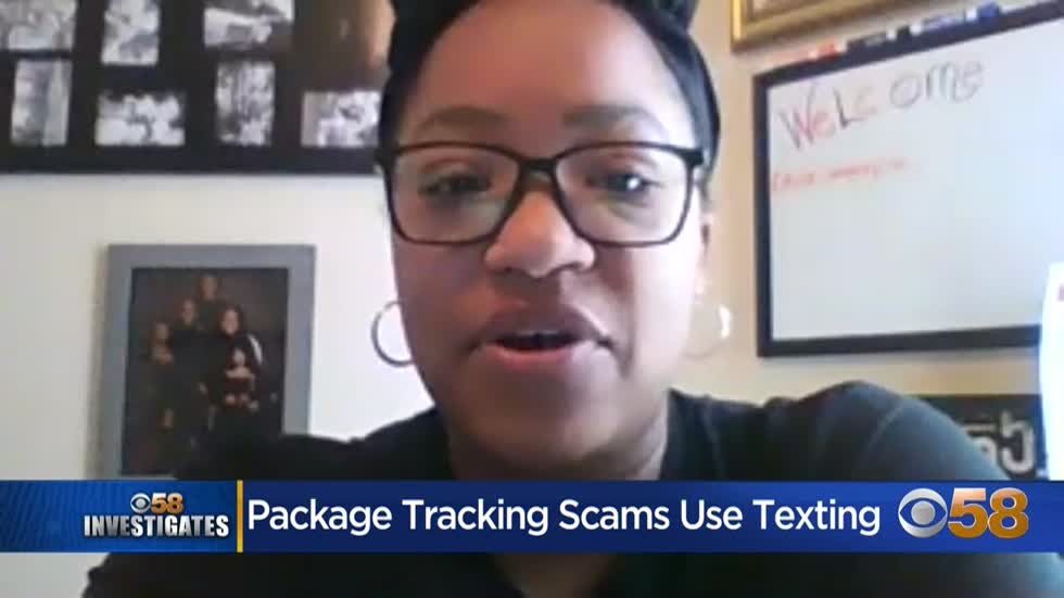 Package text scams
