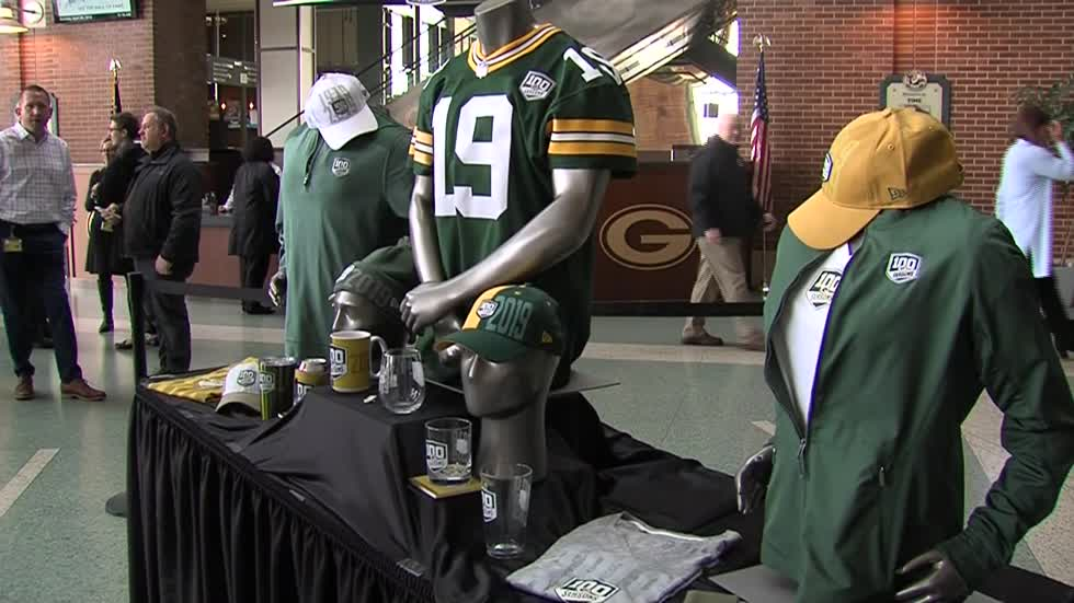 "Green Bay Packers to begin ""100 Seasons"" celebration"