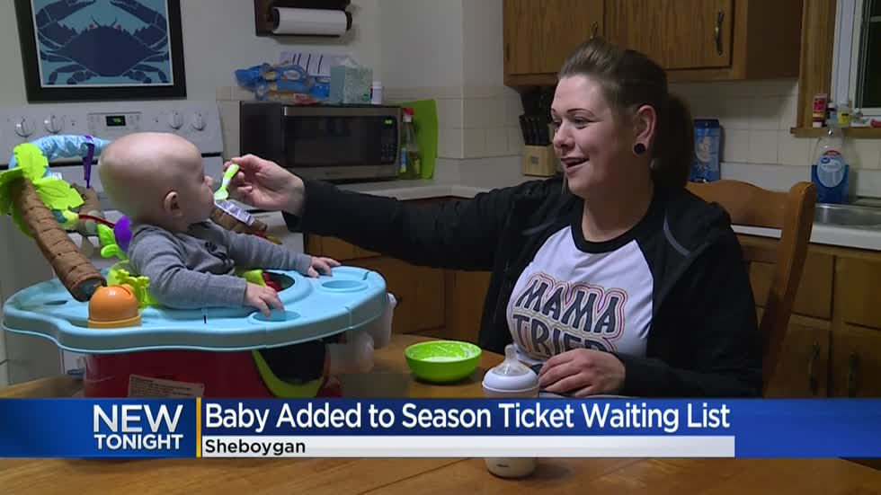 Family has no idea how 4-month-old ended up on Packers season ticket waiting list
