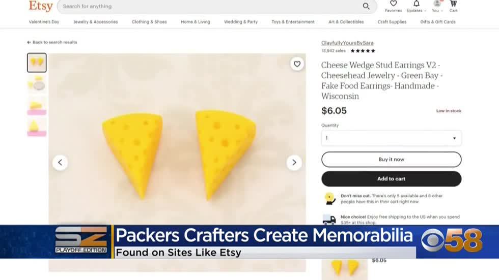 Packers crafters make 1-of-a-kind gear for 1-of-a-kind fans 💚💛