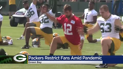 Packers preseason home games, training camp will not include...