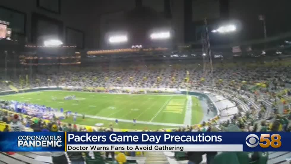 'We just need folks to buckle it down': Doctor urges people not to gather in groups for Packers game