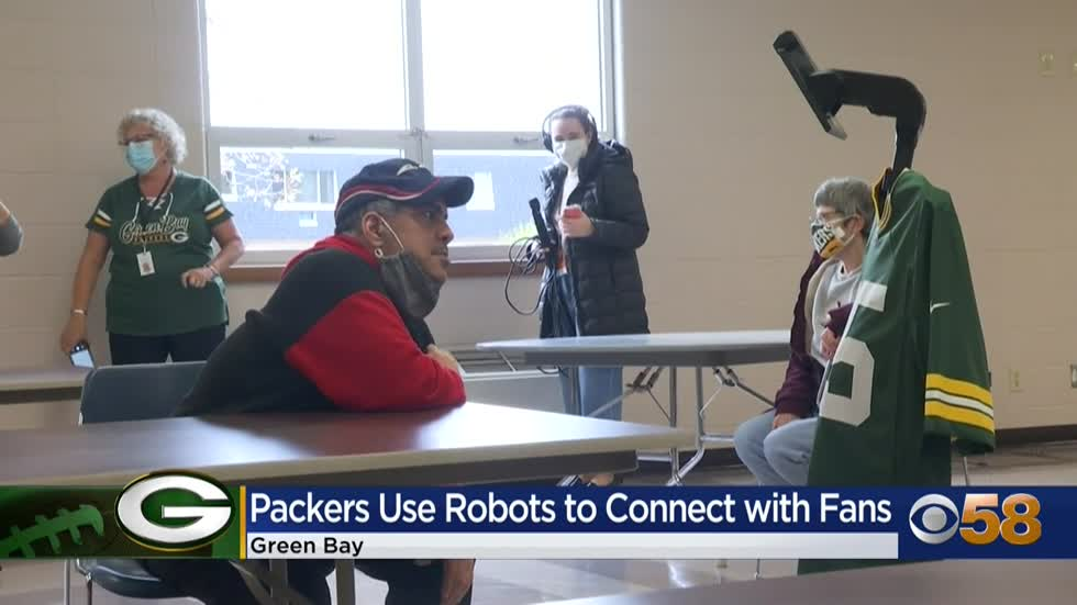 Packers use robots to connect with fans