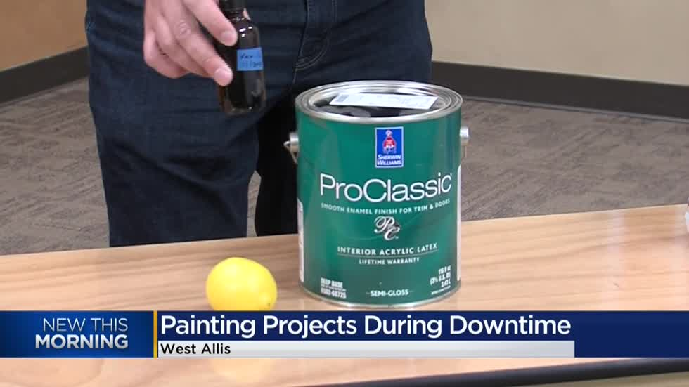 Home painting doesn't take a stroke of genius.  Just good skill.