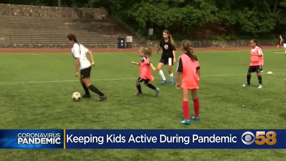 Local pediatrician encouraging kids to get active, return to...