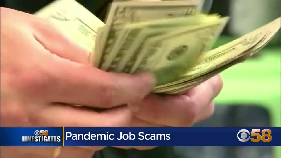 CBS 58 Investigates: Scammers targeting job seekers