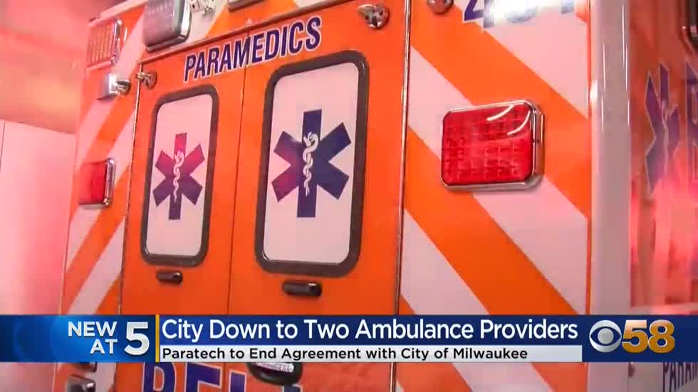 Future of ambulance service in Milwaukee up in the air as Paratech...