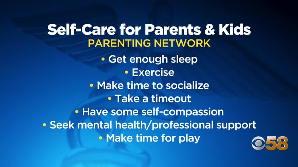 The Parenting Network shares tips for adult, youth self-care