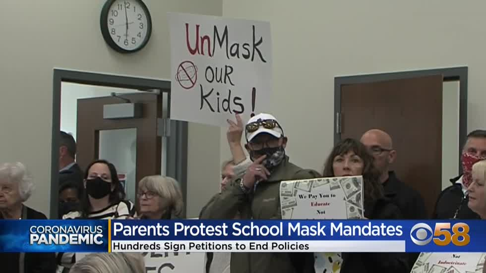 Some Wisconsin parents turn attention to protesting masks in...