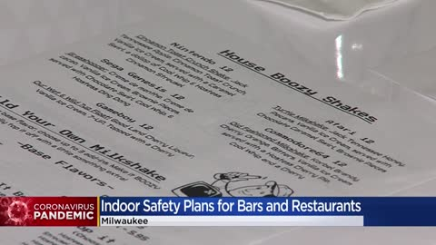 Milwaukee bars and restaurants required to submit safety plans to continue indoor operations