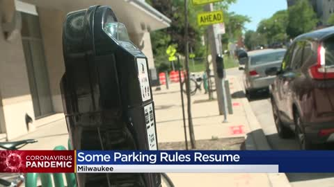 Metered parking restrictions to resume June 15 in City of Milwaukee