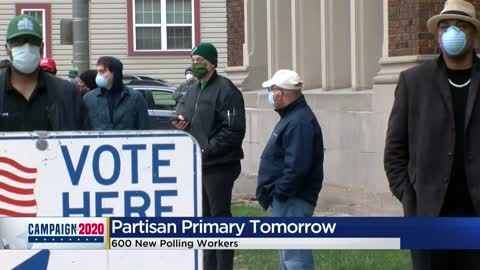 Milwaukee to have 168 polling places to avoid crowds for Tuesday's...